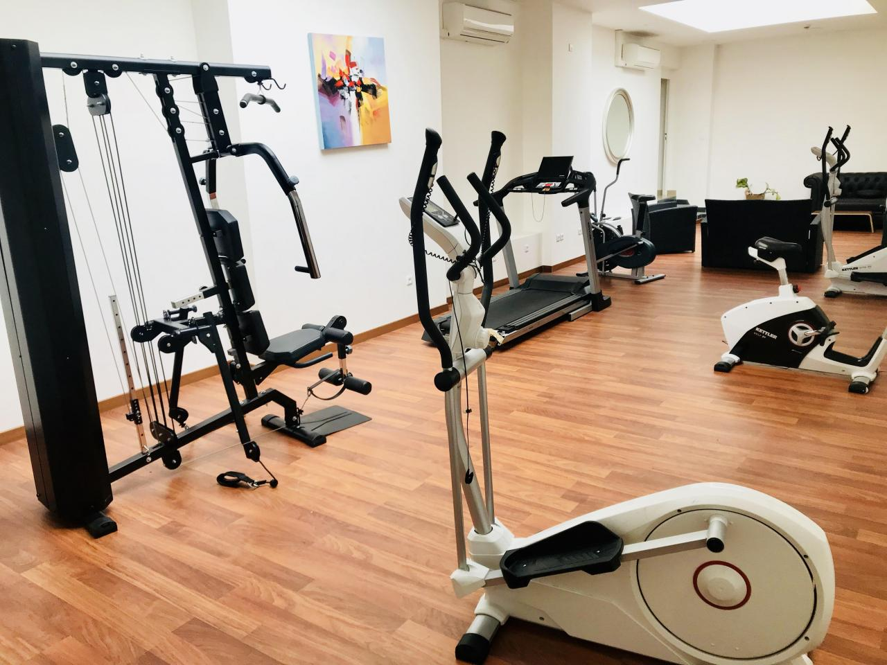 Executive Hotel - Salle de fitness